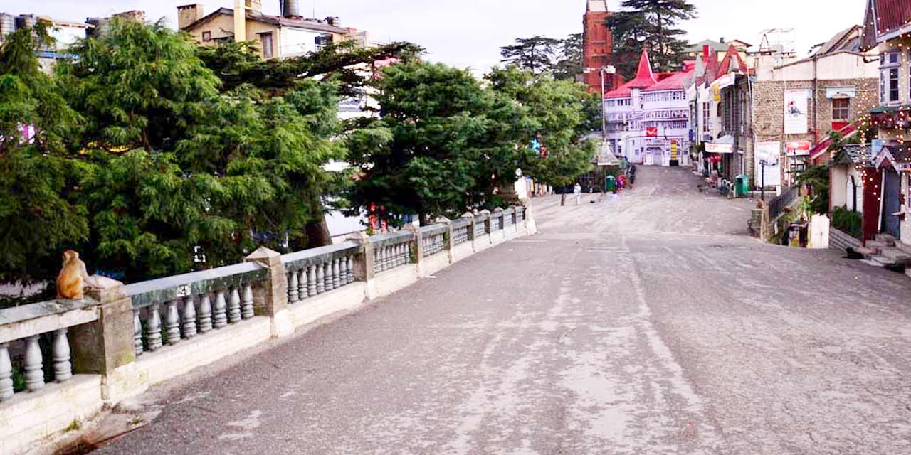 Mall Road, Shimla